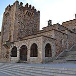 Entrée de la ville ville de Cáceres