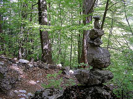 Prionia - Voie sacrée sur les pentes de l'Olympe
