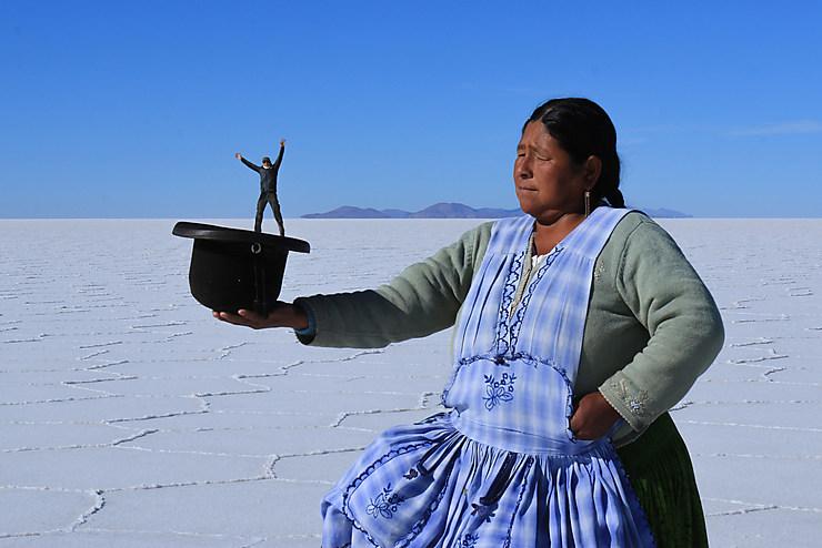 Tadammm !!! Salar d'Uyuni, Bolivie