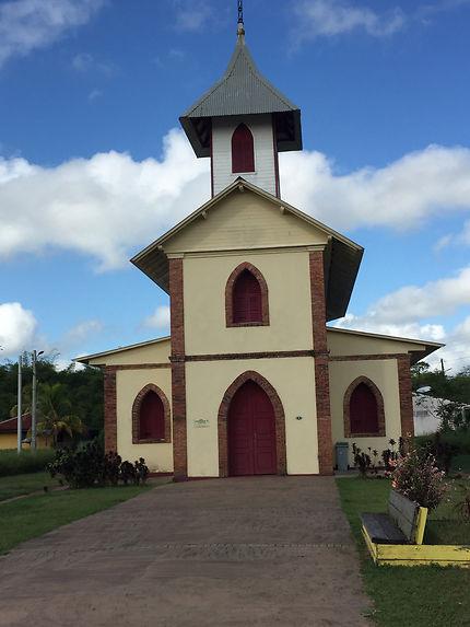 L'église de Montsinéry