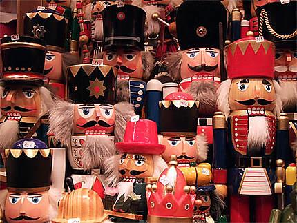Casse noisettes sur le marché de Noël