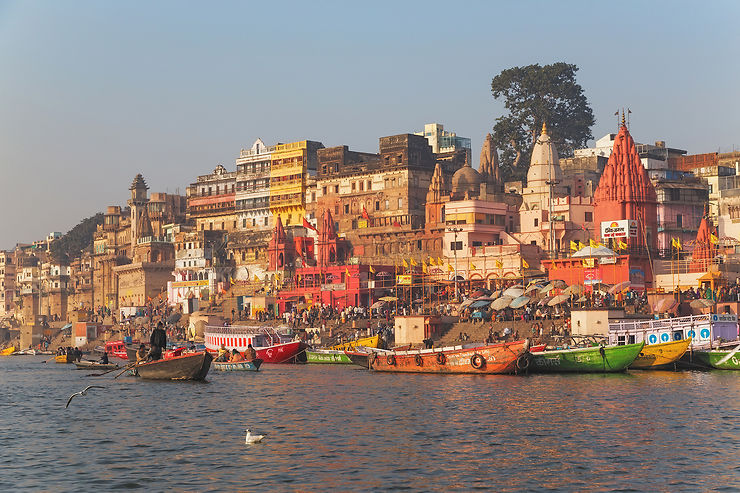 Inde : Varanasi (Bénarès), ville sacrée