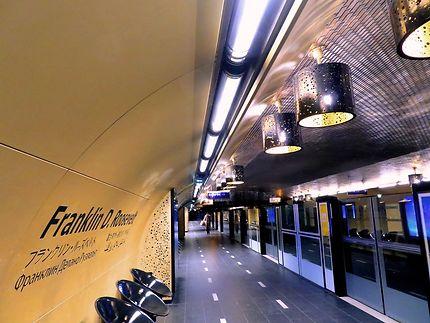 Station du métro Franklin Roosevelt