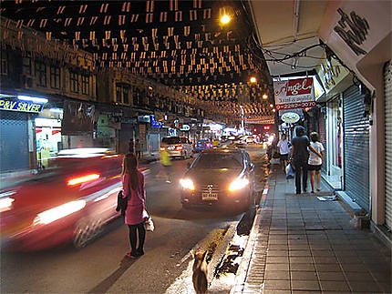 Khao San Road, night