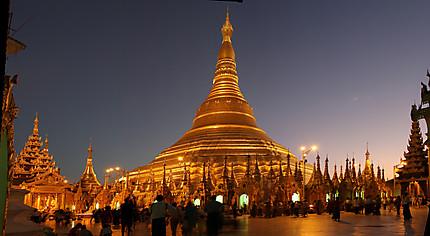 Le stupa de Shwedagon