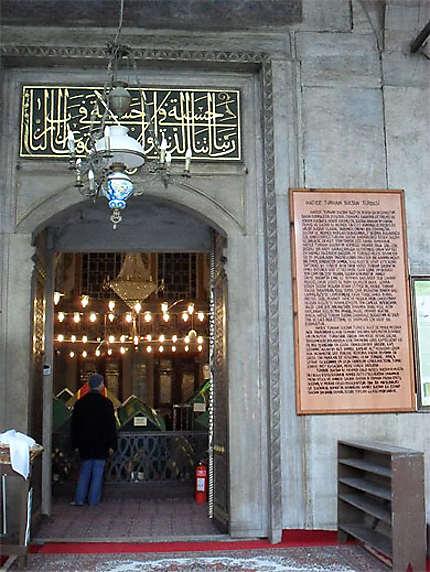 Hatice Turhan Sultan Türbesi : Mausolée de la Sultane Hatice