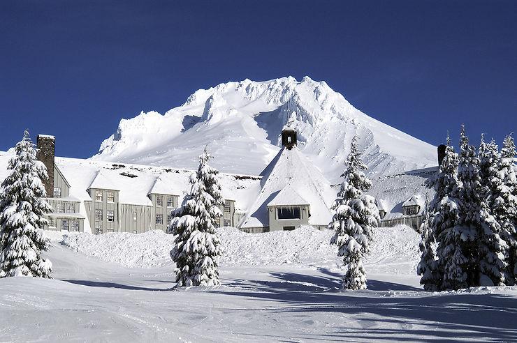 Timberline Lodge (Oregon) : l'hôtel de Shining