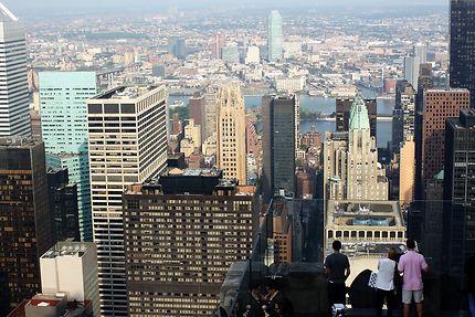 New York - vue du haut du Top of the Rock