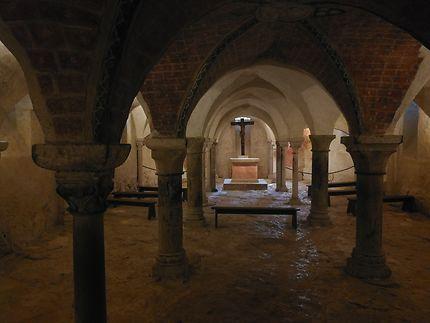 La crypte de Vezelay