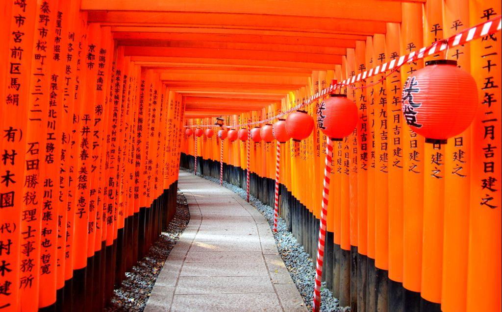 Sanctuaire Fushimi Inari - Japon