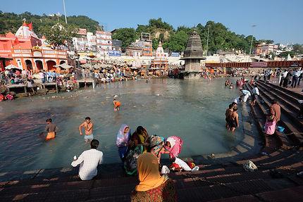 Le ghat de Har-Ki-Pairi à Haridwar