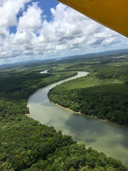 La Guyane vue du ciel