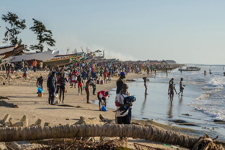 Plage de Kafountine – Sénégal
