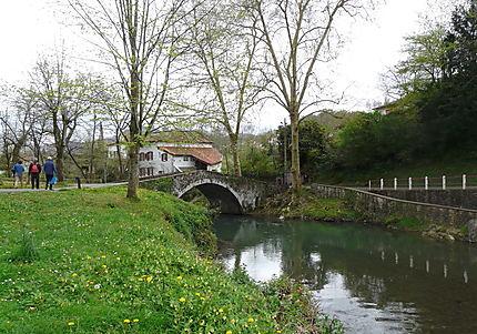 Le petit pont sur la Nive