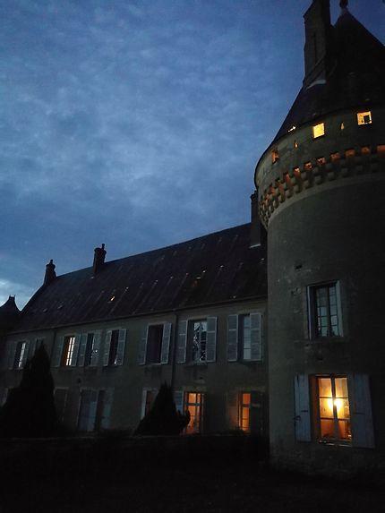 Le château des Bordés à Urzy