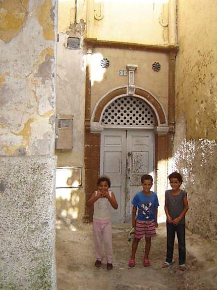 Enfants dans la cité
