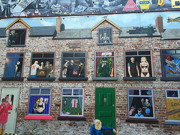Le Belfast historique et les murals