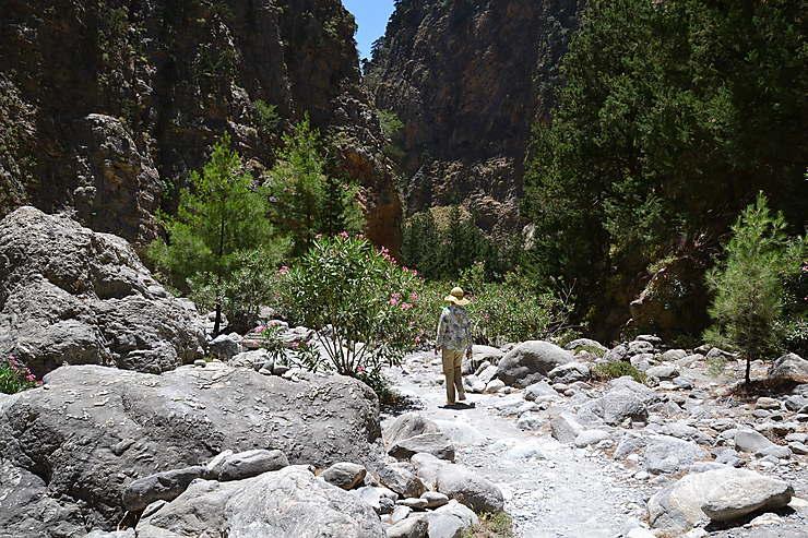 Gorges de Samaria, Crète