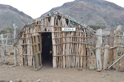 Village de Dougoum Ecole du village