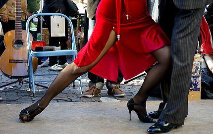 Le tango c'est quatre jambes et un coeur