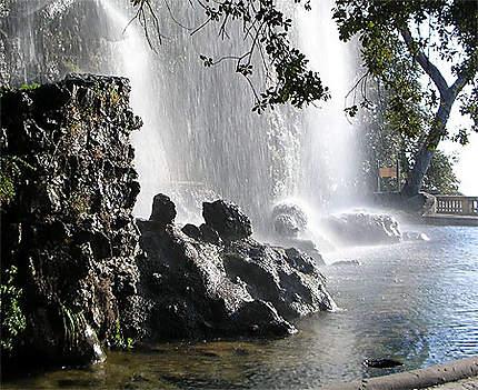 La cascade du château