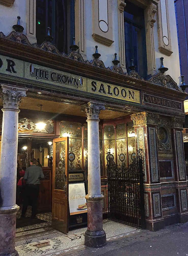 Les pubs de Belfast