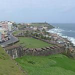 El Morro depuis le Castillo de San Cristobal