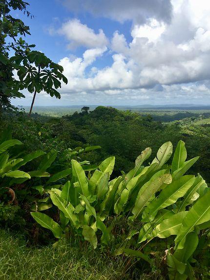 Le belvédère sur les hauteurs de Cacao
