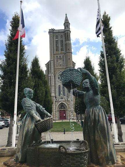 Cancale et sa magnifique église