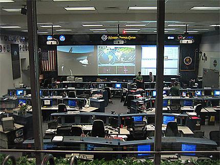 Salle de controle NASA