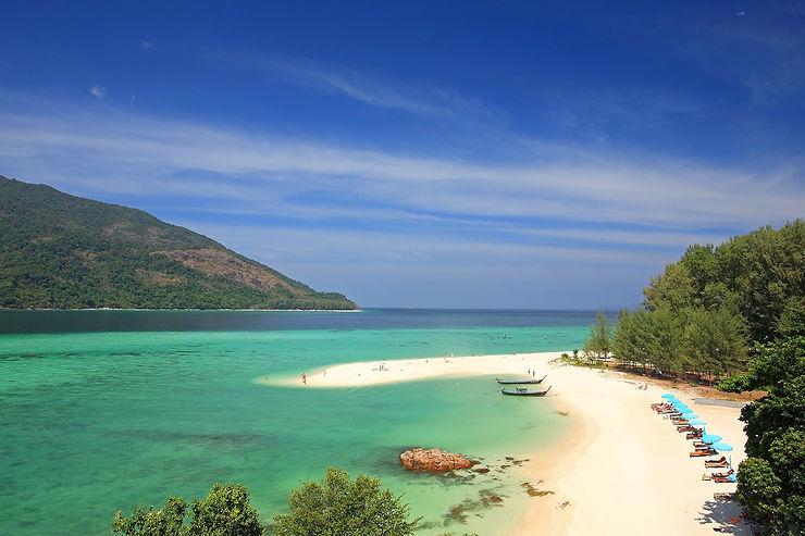Sunrise Beach et Sunset Beach, Ko Lipe – Thaïlande
