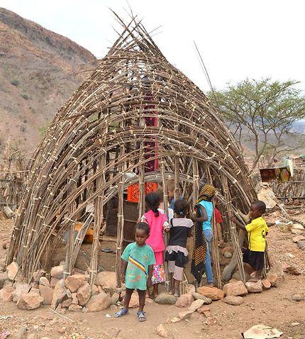Maison du village de Dougoum