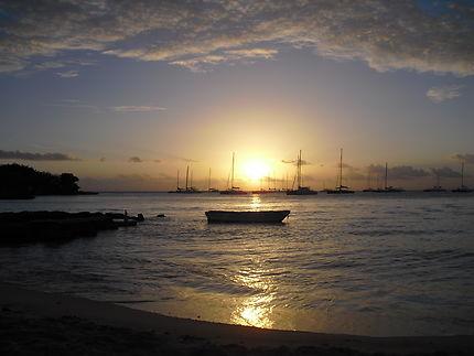 Coucher de soleil à Bayahibe