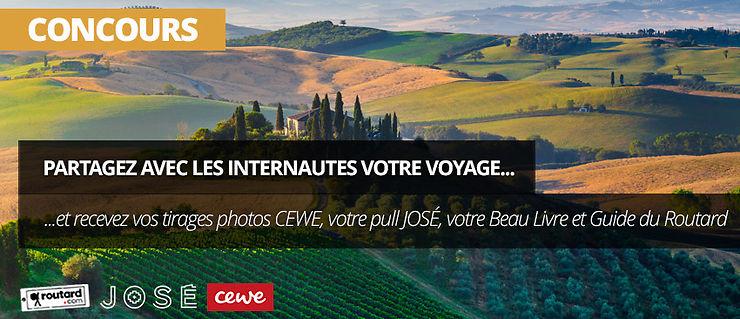 Concours - Evénement Carnets de voyage sur Routard.com