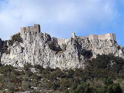 Château cathare de Peyrepertuse
