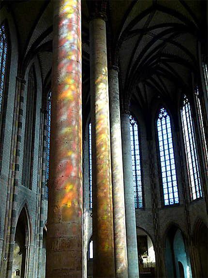 Colonnes multicolores