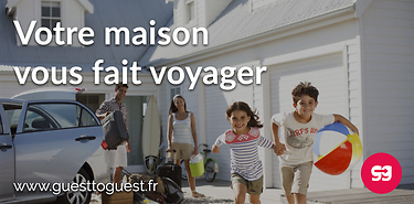 GuestToGuest - Echange de maison et appartement: inscription gratuite