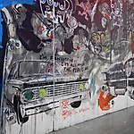Tags et graffitis à la Braderie de l'Art