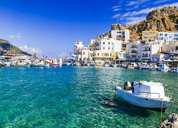 Karpathos - Grèce, îles du Dodécanèse