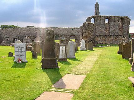 La cathédrale de St Andrews