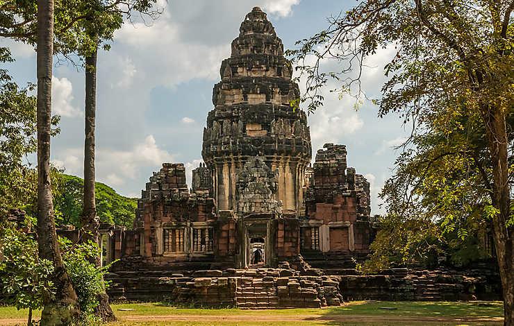 Les citadelles khmères de l'Isan
