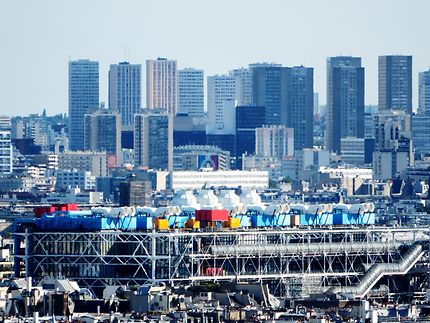 Le centre Pompidou