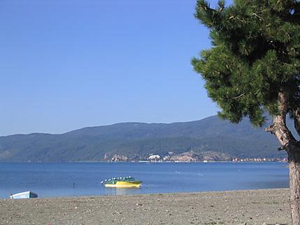 Le lac Ohrid