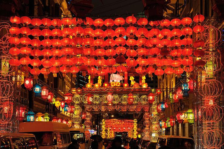 Fête des lanternes de printemps (Yuanqiaojie) en Chine et à Hong Kong