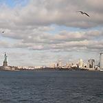 Vue sur la Statue de la Liberté et Manhattan