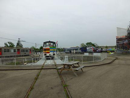 Vue du plateau extérieur, Mulhouse