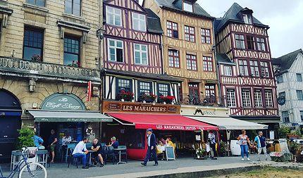 Maisons à colombage de Rouen