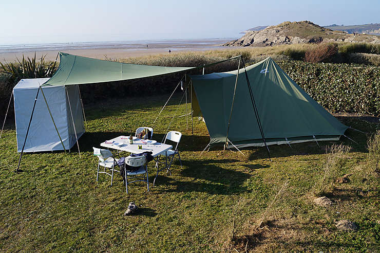 Finistère - Clic and Camp, une offre pour faciliter le camping