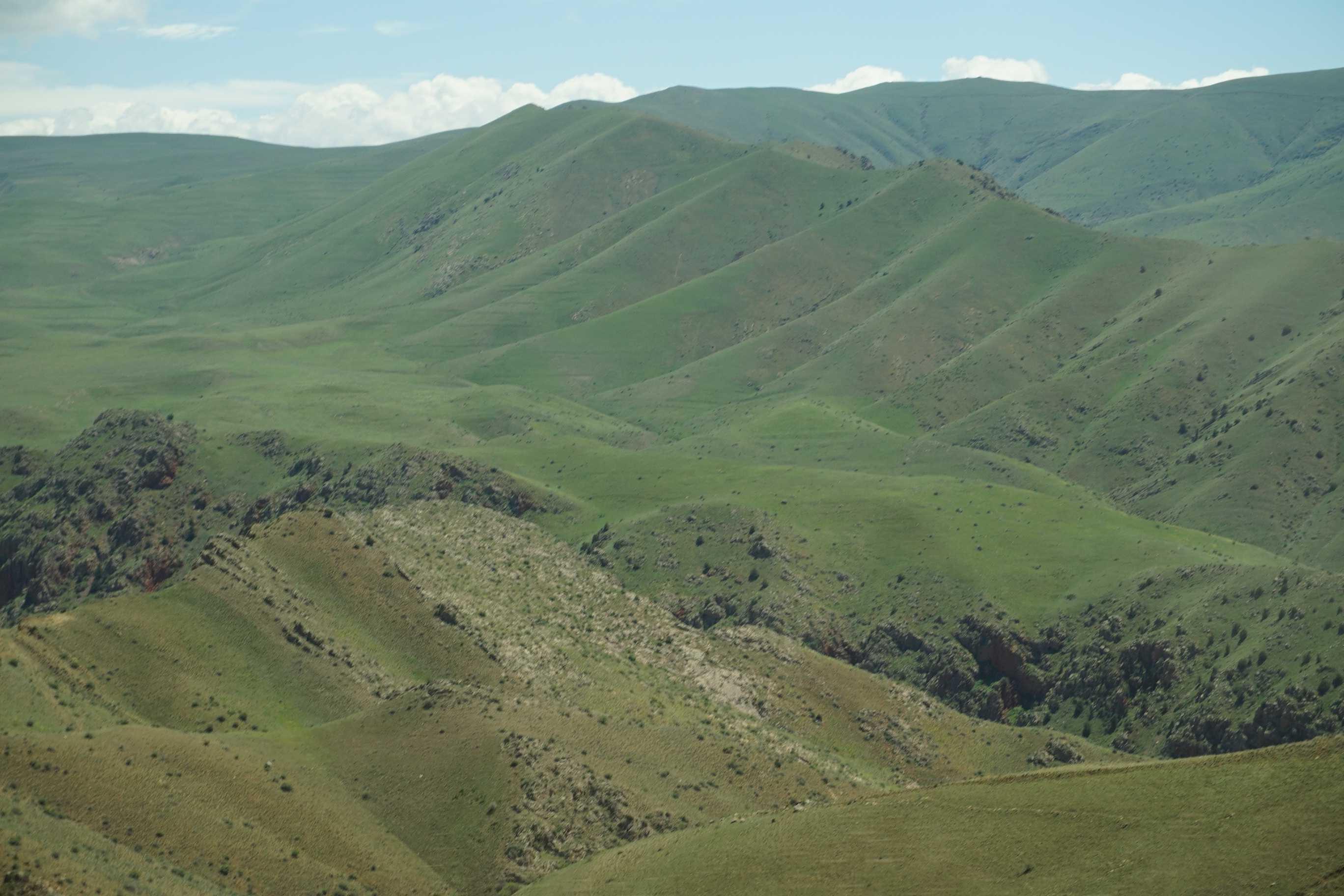 Paysage près de Garni : Erevan et ses environs : Arménie : Routard.com