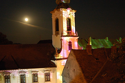 Eglise serbe et illuminations exceptionnelles